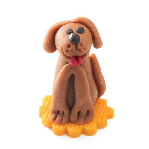 Hond figuur marsepein