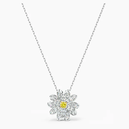 Pendente Eternal Flower, giallo, mix di placcature