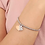 Thumbnail: Braccciale acciaio Love Gatto