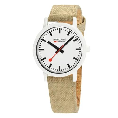 essence white, orologio sostenibile per donna e uomo, MS1.41110.LS