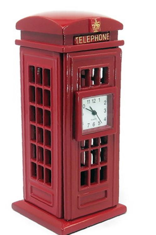 Miniatura cambina telefonica inglese