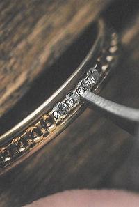Foto per promozione S.Valentino diamanti