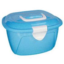 MINI BOX de plástico AZUL MALETINHA