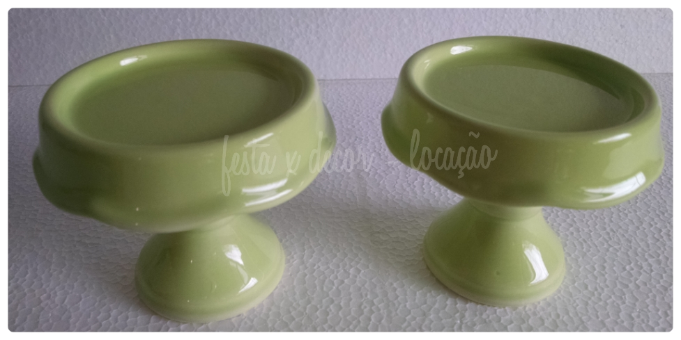 Composição mini verde