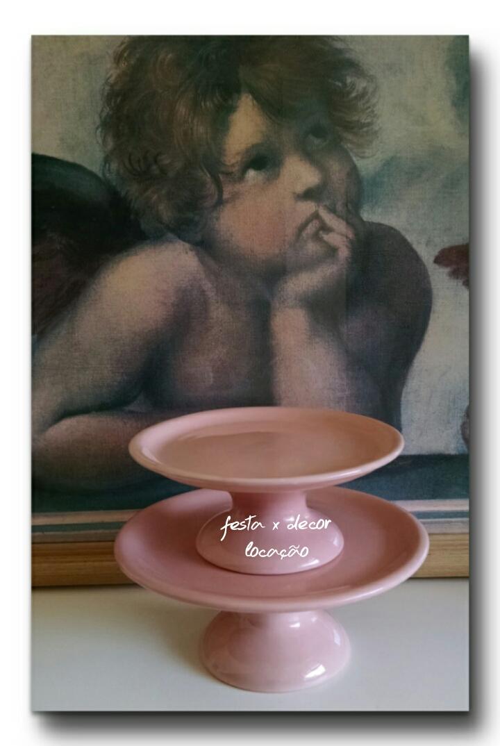 pratos rosa