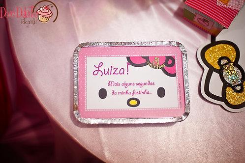 Quentinha da Hello Kitty - Marmita da Hello Kitty