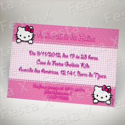 Convite com o TEMA da FESTA - tamanho 10x15 (cm) PAPELARIA PERSONALIZADA EXCLUSIVA