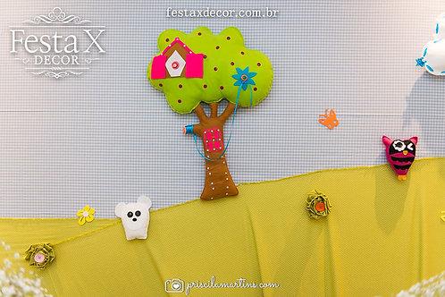 Árvore da Lalaloopsy festas decoração