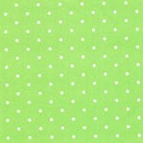 Papel de seda verde poás branco