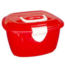 MINI BOX de plástico VERMELHO