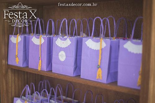 Sacola Gift Rapunzel TANGLED ENROLADOS LEMBRANCINHAS PERSONALIZADOS