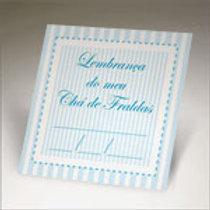 tag para chá de fraldas cor azul
