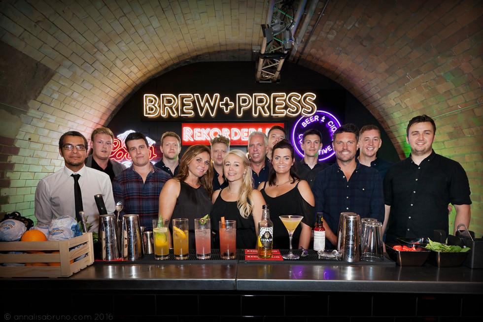 BREW & PRESS