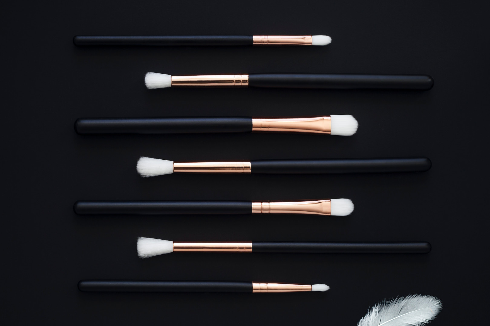 MakeUp Brushes Rose