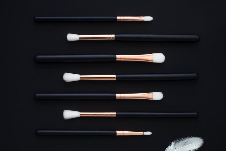 MakeUp Brushes Rose
