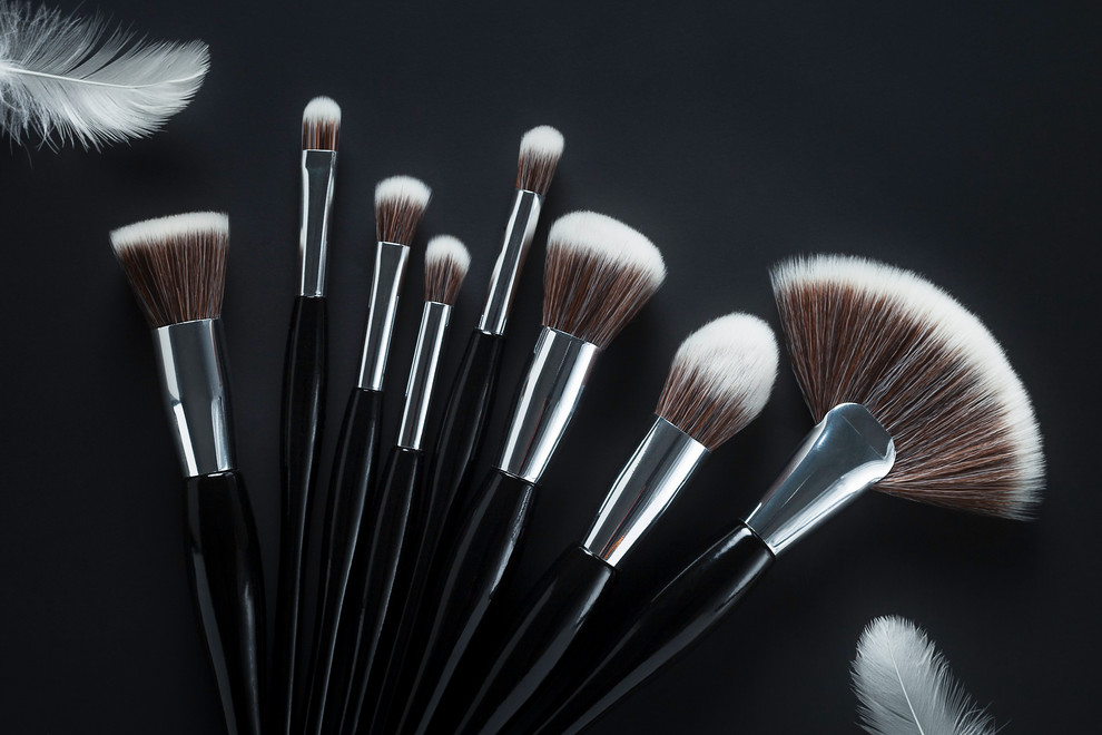 MakeUp Brushes Silver