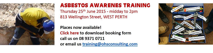 Asbestos Awareness Training Perth