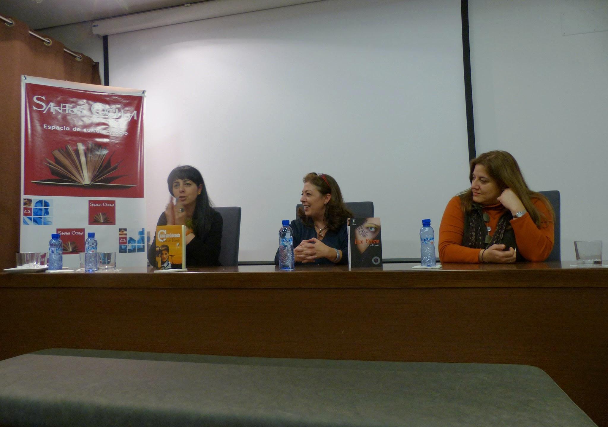 Presentación libros de Lucía de Vicente - 3