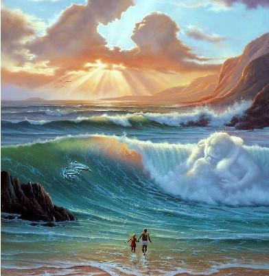 Mirando al mar soñé