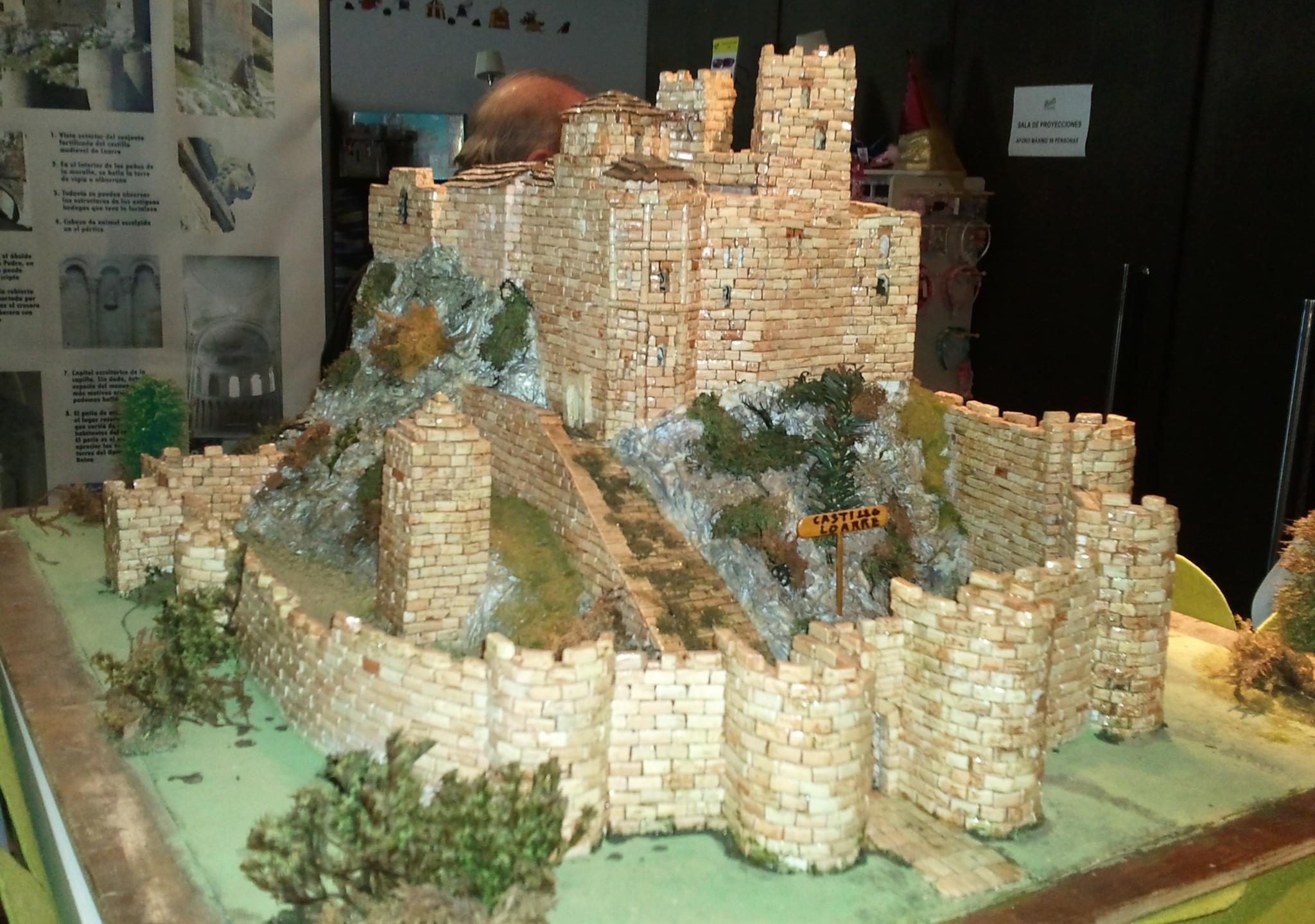 Castillo de Loarre - Maqueta