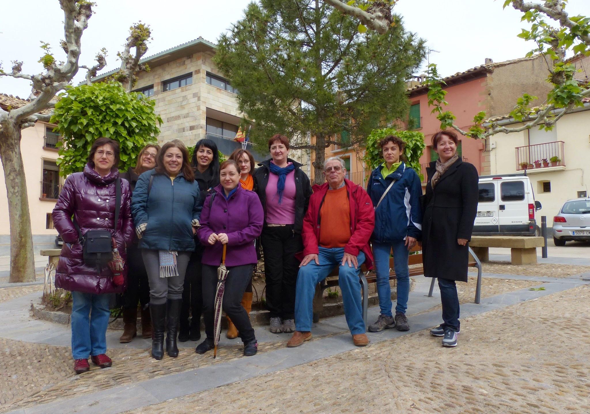 Asistentes al I Fin de Semana Romántico 2012 - Autoras y organizadores - 2