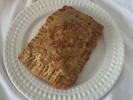 Single Serve Apple Cinnamon Pop Tart (vegan, gf, nut free, + air fryer opt)