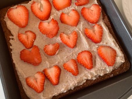 Strawberry Short Cake (paleo & vegan)