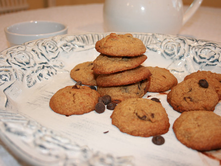 Paleo Coconut Flour Chocolate Chip Cookies (Paleo & Nut-Free, w/ Vegan Option)
