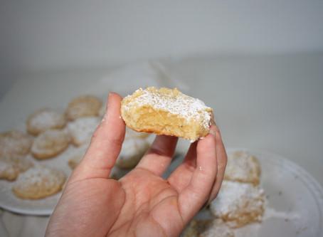 Paleo & Vegan Lemon Cookies