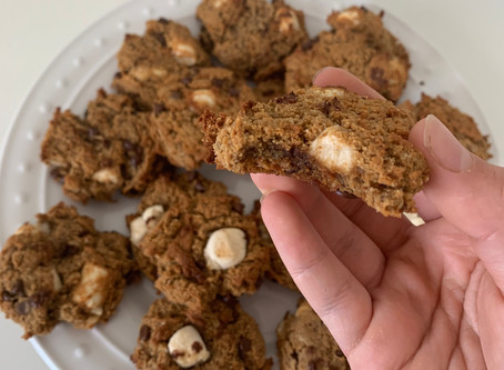 S'mores Cookies (Vegan & Paleo)
