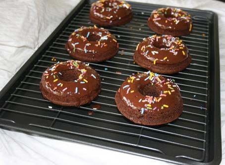 Nut-free Paleo Chocolate Donuts (Vegan opt.)
