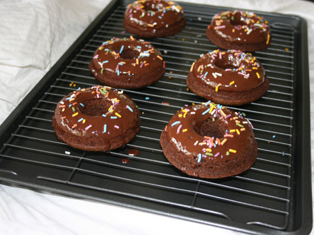 Nut-free Paleo Chocolate Donuts (Vegan opt.)