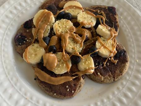 Protein Pancakes (vegan, gf, nf)