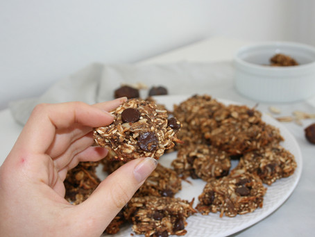 Healthy Superfood Breakfast Cookies (Vegan & Gluten Free)