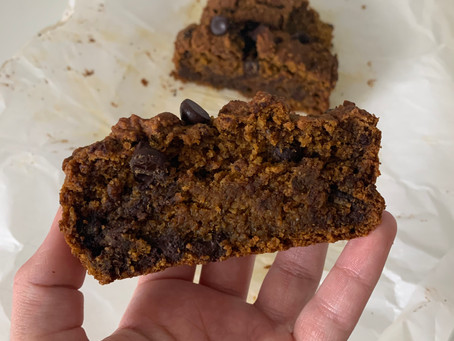 Vegan Pumpkin Bread (nut free + gf)