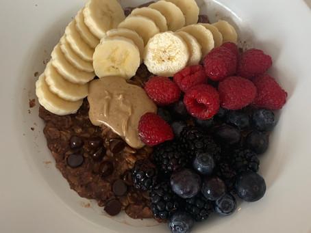 My Protein Oats Recipe!! (vegan, gf, nut free)