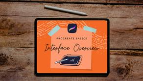 PROCREATE BASICS | INTERFACE OVERVIEW