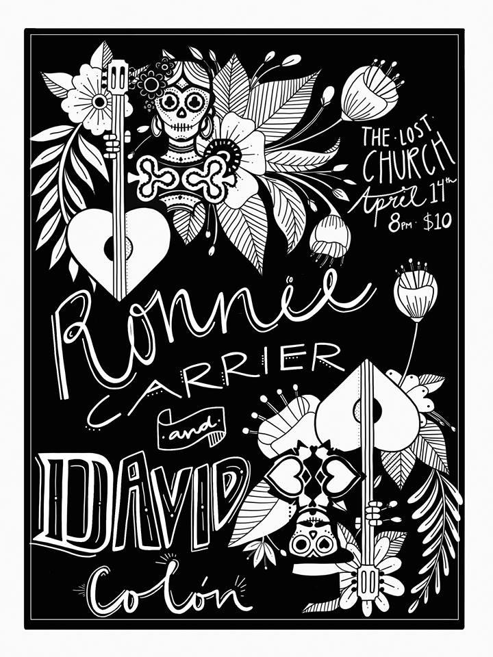 Ronnie Carrier & David Colón Show Poster