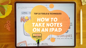 How to Take Notes on an iPad