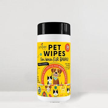 Pet Wet Wipes 50 CT
