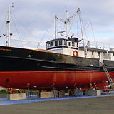 Drydock for hull painting, Port Townsend