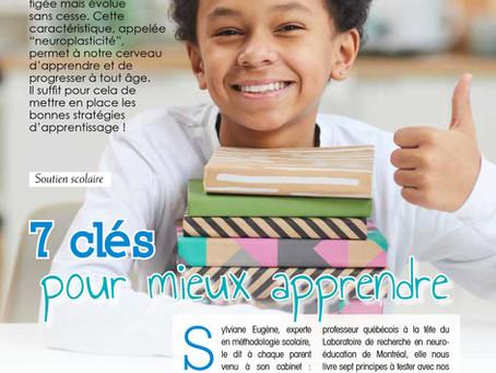 Aider son enfant à mieux apprendre  grâce à 7 principes clés issus des neurosciences