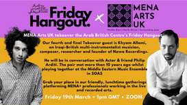 Newsletter 17 - our last ABC hangout of the series & more opportunities for MENA+ creatives 15.03.21