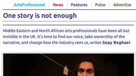 Arts Professional (£) - One Story Is Not Enough 02.02.21