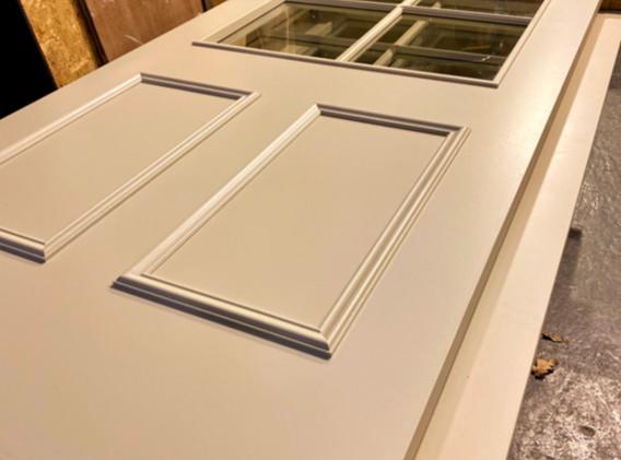 FD30 Doors with beading panels