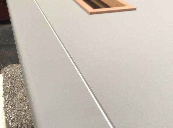 FD30 White door with windows