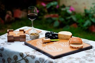 Pretty paisley platter