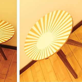 the sunshine side table
