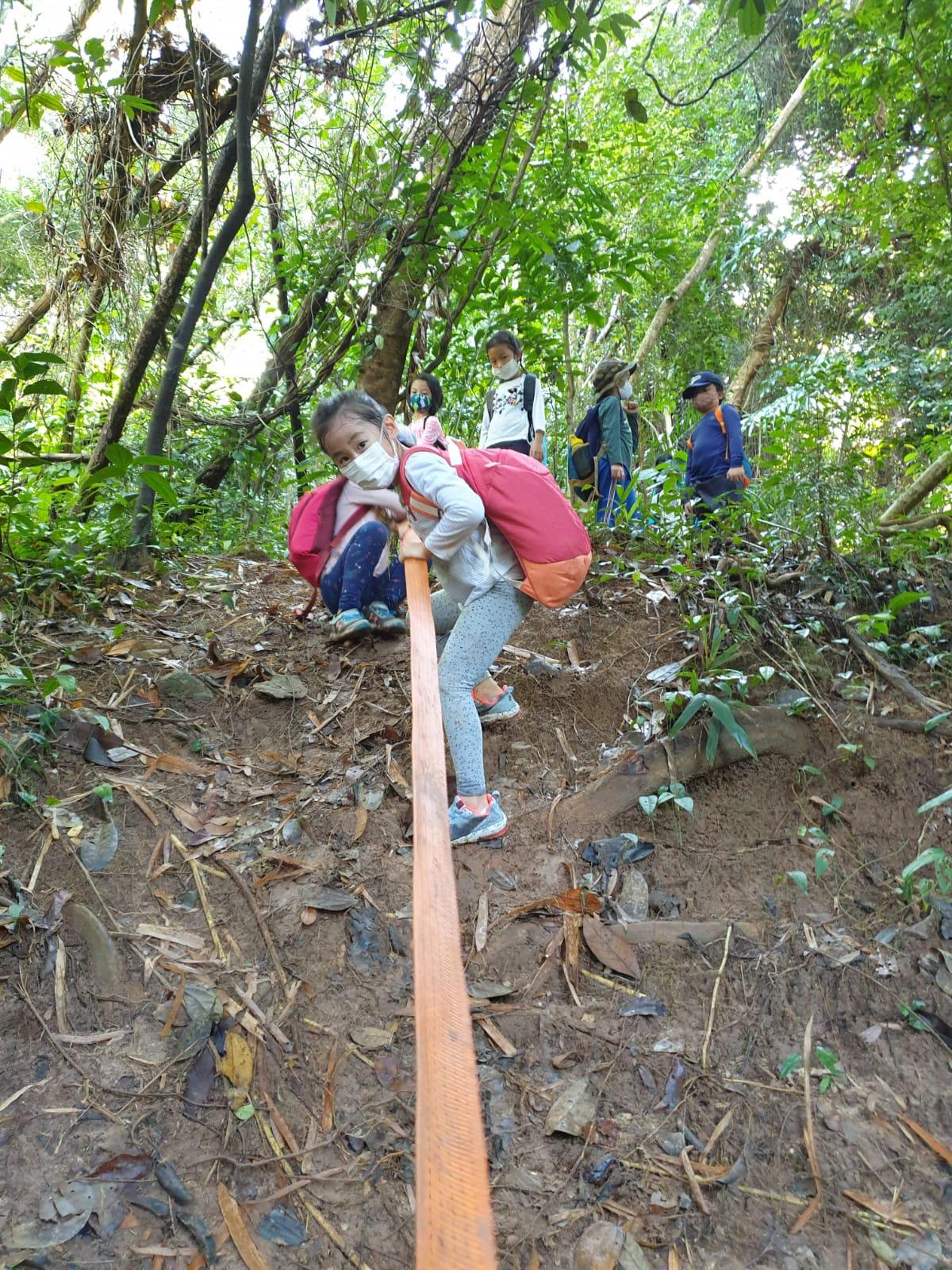 Climbing hills