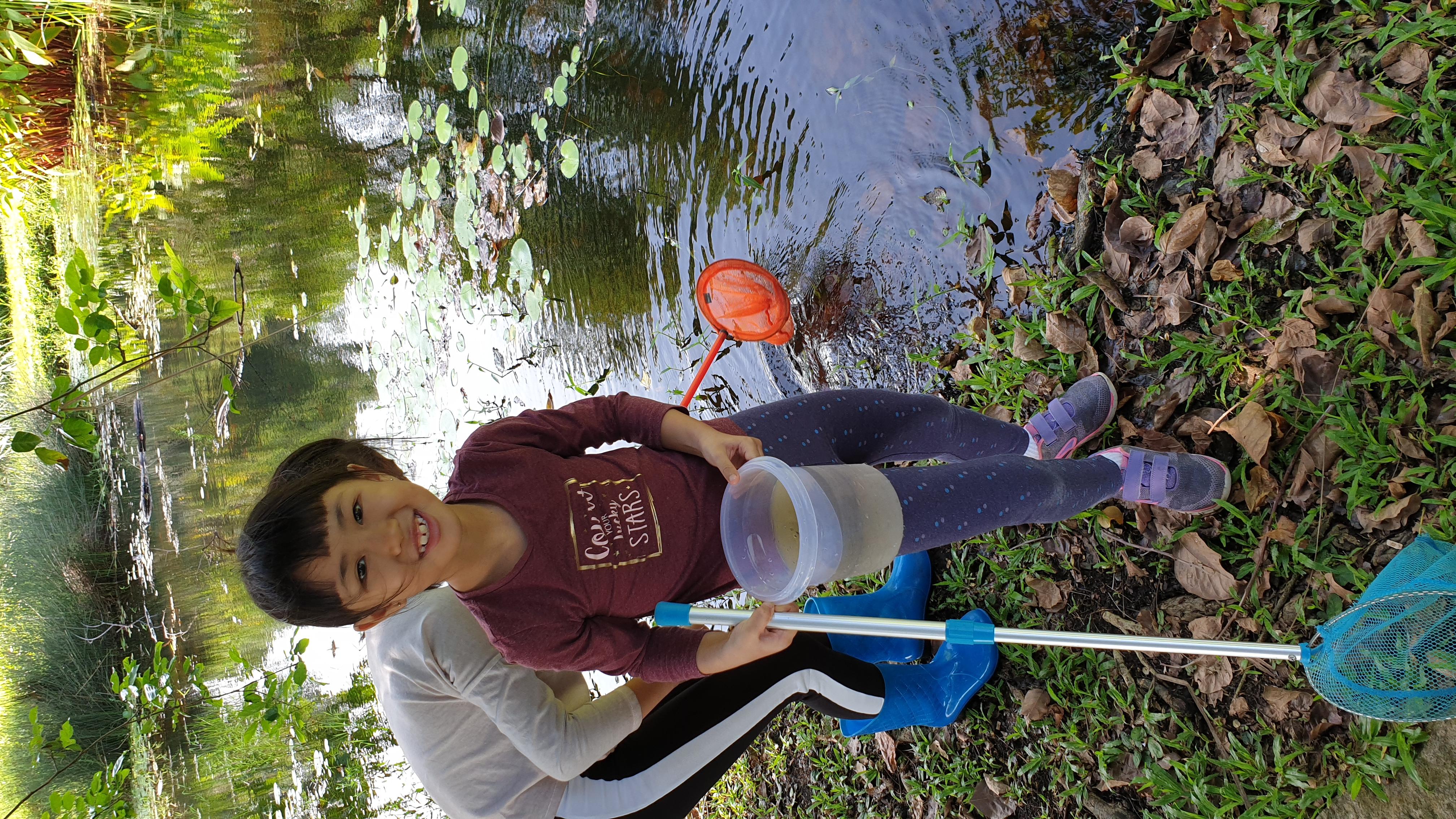 Pond exploration